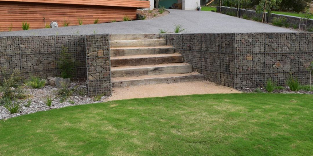 gabion cages the rock yard albury wodonga. Black Bedroom Furniture Sets. Home Design Ideas